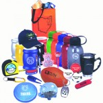 promotional products with logo, sample range