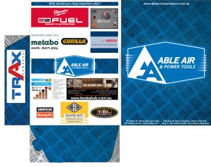Able Air, Presentation folders