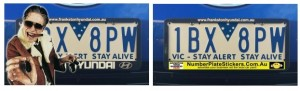 LOCAL AREA MARKETING IDEAS, number plate frames, number plate stickers, local area marketing secrets