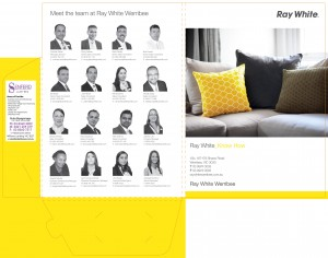 Ray White presentation folders