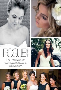 Rogue, localbride, rogue hair and makeup,