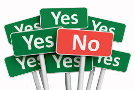 The power of no, in getting to yes in marketing your business