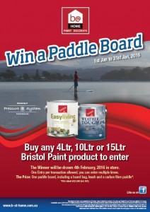 Win a Stand Up Paddle Board