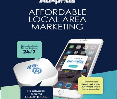 Adpods - Proximity marketing beacons